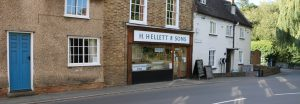 Helletts Butchers shop